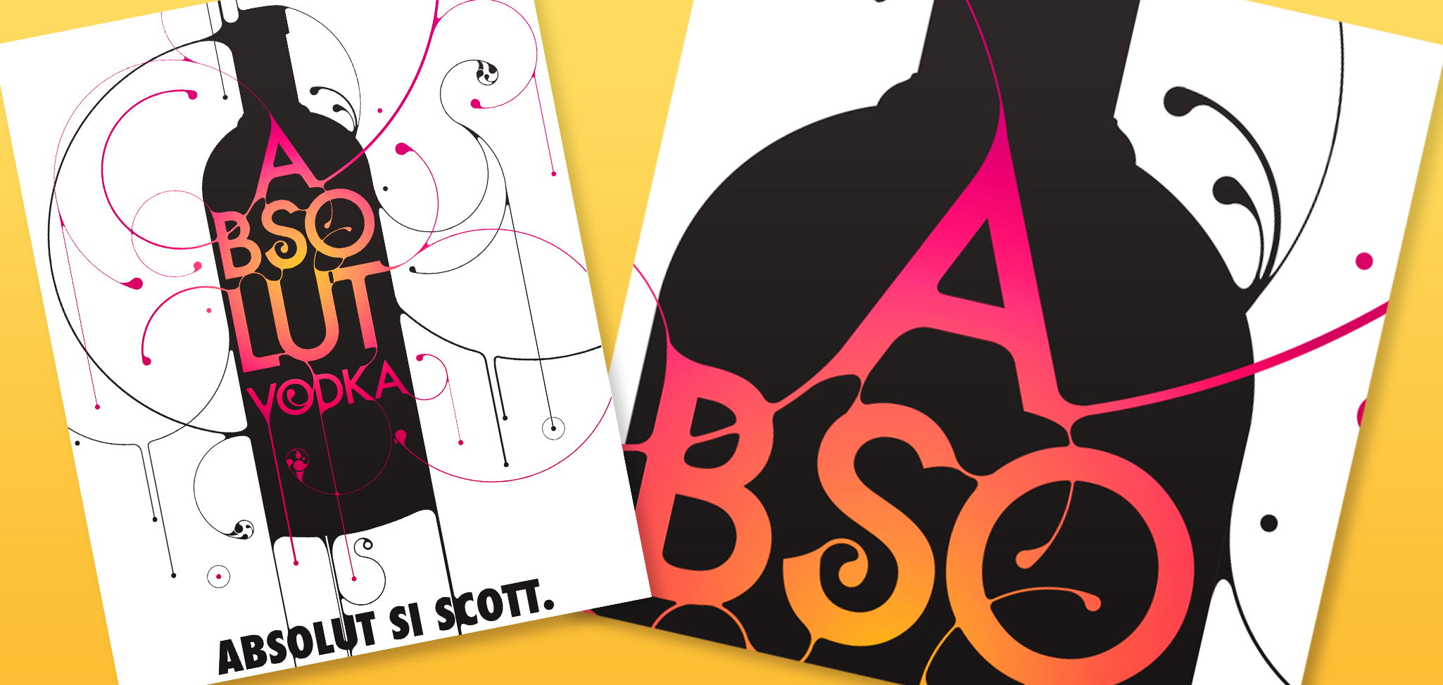 Absolut Vodka Illustration