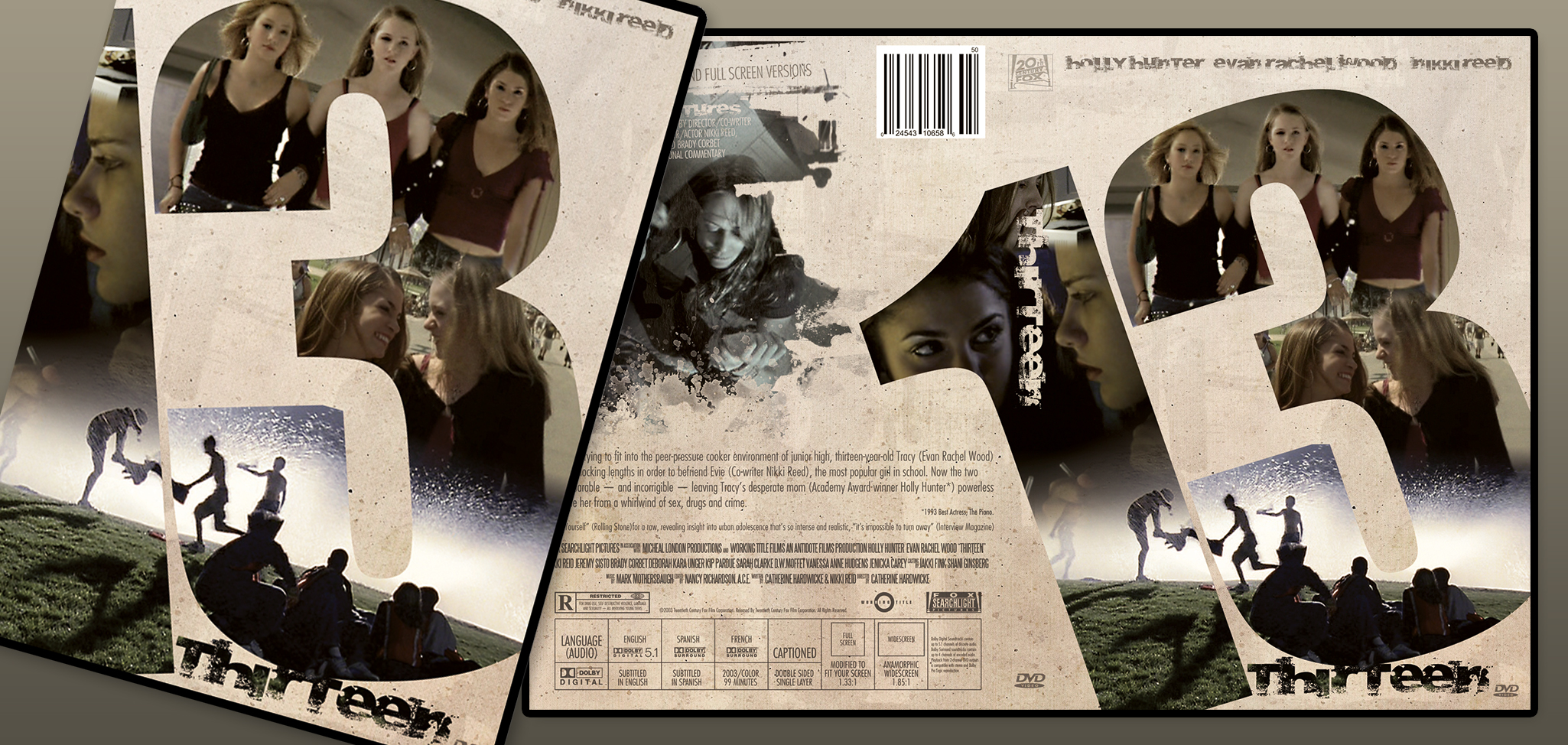Thirteen, Dvd Cover Redesign